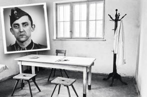 1988, Poland --- A room in one of the hospital barracks, where inmates were given lethal injections of phenol. --- Image by © Ira Nowinski/CORBIS