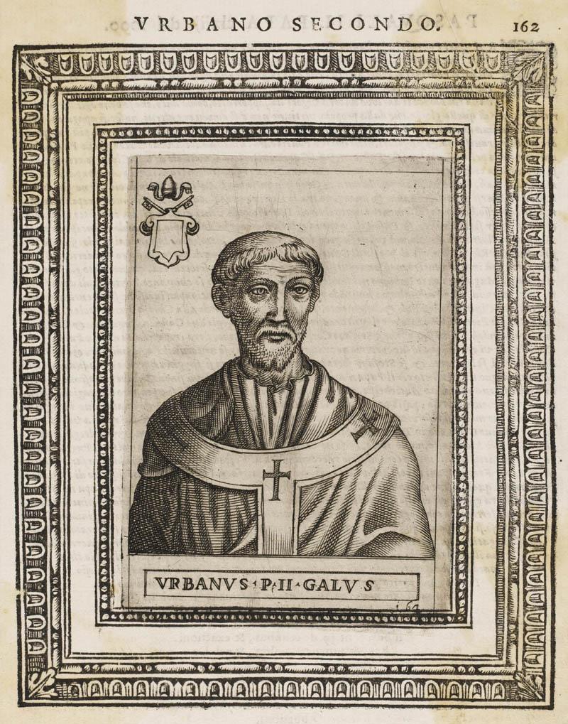POPE URBANUS II (Odo) Date: reigned 1088 - 1099