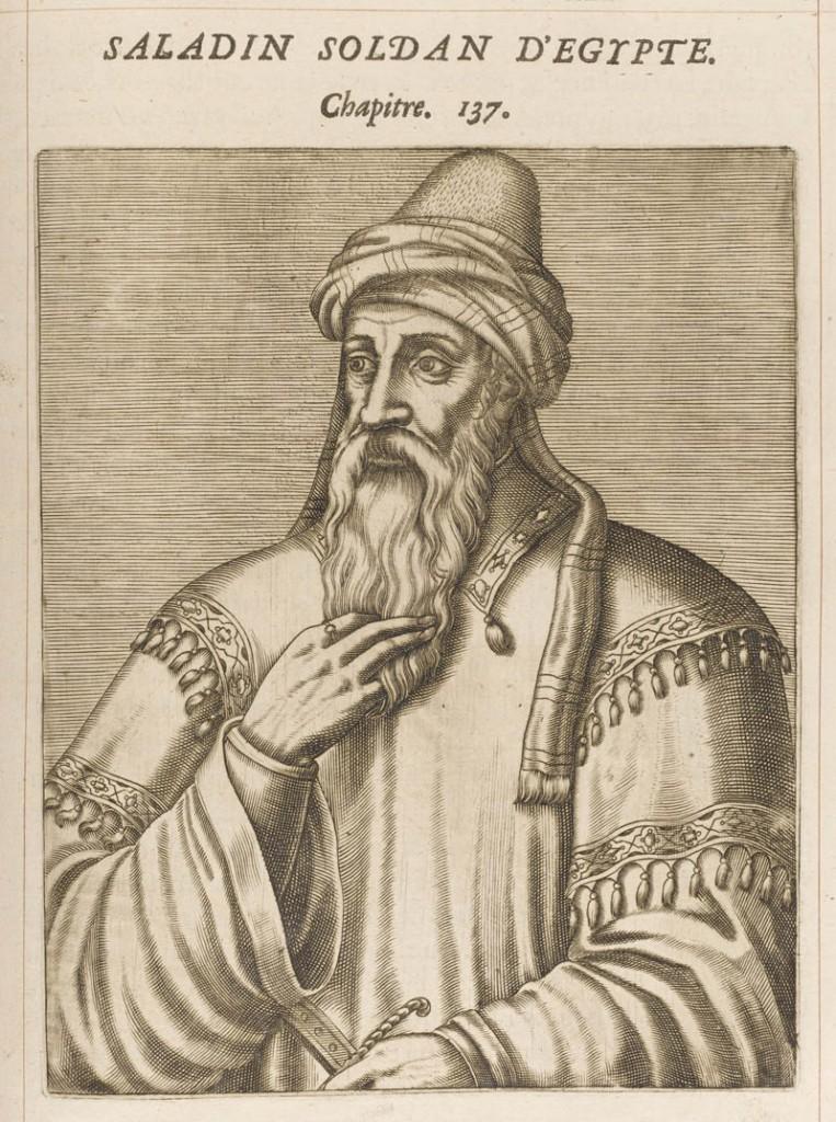 SALAH AD-DIN YUSUF IBN AYYUB ka 'SALADIN' Muslim Sultan of Egypt & Syria Date: 1137 - 1193