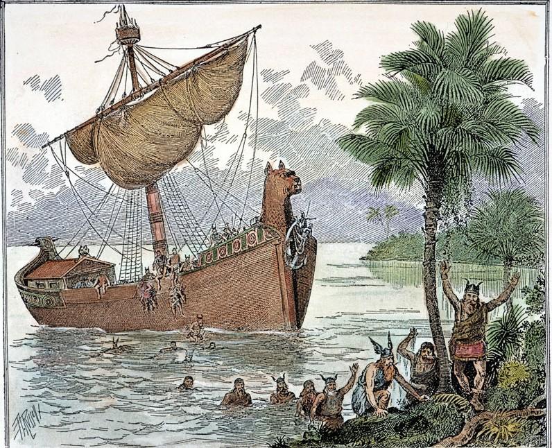 Vikingos, historia